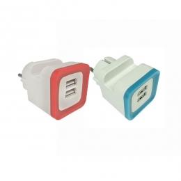 ΑΝΤΑΠΤΟΡΑΣ ΑΠΟ ΣΟΥΚΟ ΣΕ 2 USB